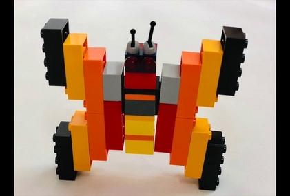 Симметричная бабочка! Конструируем вместе с детьми