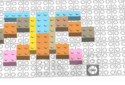 Лего – симметрия (вариант 1)