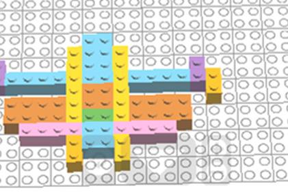 Лего – симметрия (вариант 3)