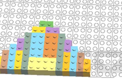 Лего – симметрия (вариант 4)
