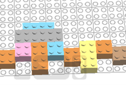 Лего – симметрия (вариант 6)