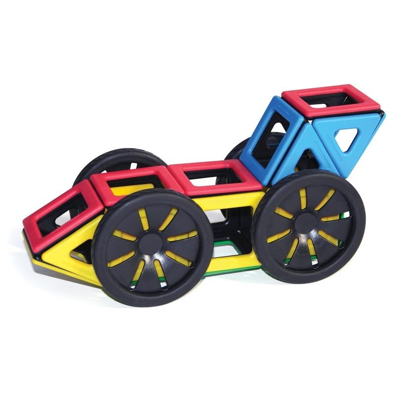 Строим магнитную гоночную машину вместе с дошкольниками!
